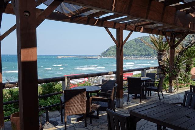 【2位】糸島の野北にある海が見えるカフェレストラン